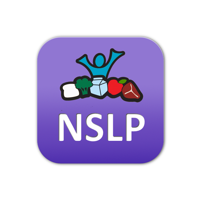 logo for National School Lunch Program (NSLP)